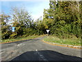 TL8329 : Langley Mill Road, Greenstead Green by Geographer