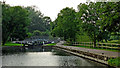 SK5908 : Birstall Lock in Leicestershire by Roger  Kidd