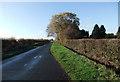 SE8929 : Common Road near Codd Hall by David Brown