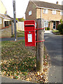 TL8429 : Atlas Road Postbox by Adrian Cable