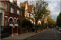 TQ2584 : Lymington Road, West Hampstead by Christopher Hilton