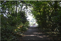 TQ0893 : Path to Moor park by N Chadwick