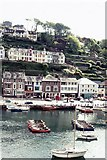 SX2553 : East Looe and the river by Peter Jeffery