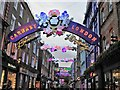 TQ2981 : Bohemian Rhapsody - A view along Carnaby Street by Richard Humphrey