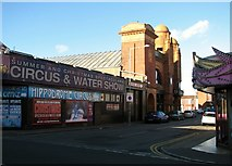 TG5307 : The Hippodrome Circus in St George's Road by Evelyn Simak