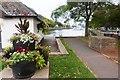 SX7344 : Harbour-side floral display, Kingsbridge by Derek Voller
