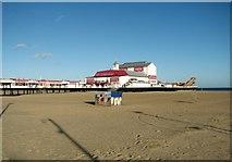 TG5307 : Britannia Pier as seen from the esplanade by Evelyn Simak