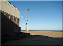 TG5307 : Great Yarmouth beach as seen from the Marina Centre by Evelyn Simak
