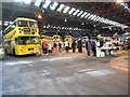 SP0879 : Inside Yardley Wood Bus Garage by David Hillas