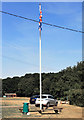 SP9300 : Flagstaff on the Green by Des Blenkinsopp
