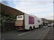 SS9389 : Nisa articulated lorry, Ogmore Vale by Jaggery