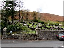 SS9389 : Northern edge of Pwllypant Cemetery, Ogmore Vale by Jaggery