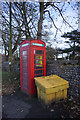 TG2738 : Former telephone kiosk, Trimingham by Ian S