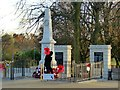 SK4746 : Eastwood War Memorial by Alan Murray-Rust