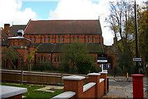 TQ2585 : Emmanuel Church, West Hampstead by Christopher Hilton