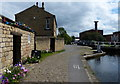 SE2833 : Lock keepers cottage at the Oddy Staircase Locks by Mat Fascione