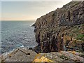 ND2434 : Cliffs at Leac Gallain by valenta