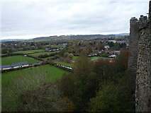 SO5074 : View from Ludlow Castle (North-East Tower) by Fabian Musto