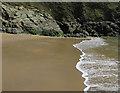 SX7635 : Beach in Maceley Cove by Hugh Venables
