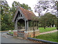 TL8925 : Lych Gate of St. Barnabas Church by Adrian Cable
