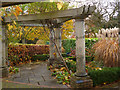 ST3087 : A corner of the pergola in Belle Vue Park, Newport by Robin Drayton