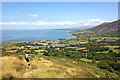 SH3645 : View towards Trefor from the Wales Coast Path by Jeff Buck