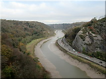 ST5673 : Avon Gorge From Clifton Suspension Bridge by Roy Hughes