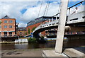 SE3033 : Centenary Footbridge crossing the River Aire in Leeds by Mat Fascione