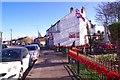 TQ5680 : War Memorial & Aveley High St by Glyn Baker