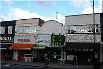TQ2487 : Shops on Golders Green Road by Christopher Hilton