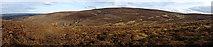 NJ2133 : Hill of Knocknashalg by Anne Burgess