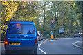 TQ1594 : London Borough of Harrow : Heathbourne Road A409 by Lewis Clarke
