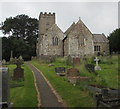 ST2281 : Grade II listed St Mellons Parish Church, Old St Mellons by Jaggery