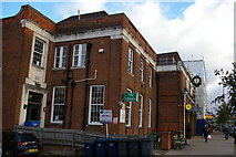 TQ2487 : Library, Golders Green by Christopher Hilton