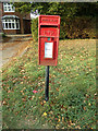 TL8923 : Coggeshall Road Postbox by Adrian Cable