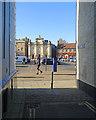 TF6120 : King's Lynn: across Tuesday Market Place by John Sutton