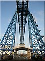 NZ4921 : Middlesbrough Transporter Bridge - closed by James T M Towill