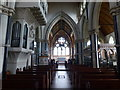 SE2769 : The interior of St Mary's Church, Studley Royal by Marathon