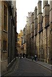 TL4458 : Trinity Lane, Cambridge by Christopher Hilton