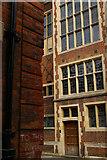 TL4458 : East end of Garret Hostel Lane, looking across Trinity Lane, Cambridge by Christopher Hilton