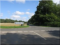 TF1107 : Road junction by Alex McGregor