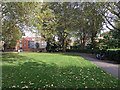 TQ3480 : Looking east in Wapping Gardens by Robin Stott