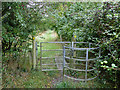 SP2260 : Kissing gate at Red Hill by Stephen Craven