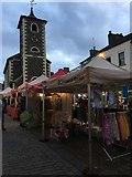 NY2623 : Keswick Market beside the Moot Hall by Jennifer Petrie