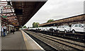 SP3165 : The train takes the strain through Leamington Spa by Robin Stott
