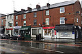 SP2865 : Some of the shops, Coten End, Warwick by Robin Stott