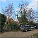 TL3142 : Litlington: on Burr's Lane by John Sutton