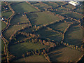 N9647 : Farmland at Red Road from the air by Thomas Nugent