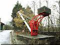 SE1835 : Bradford Industrial Museum - static derrick by Stephen Craven