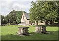 TL4196 : St Wendreda, March - Churchyard by John Salmon